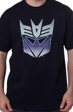 Big Decepticon Logo t-shirt