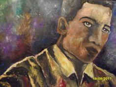 Pintura Acrílico sobre suporte de papel cannson 50 x 70 cm.  A venda por R$ 300 Reais