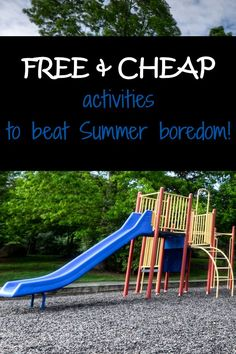 Free & Cheap activit
