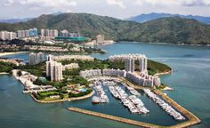 Discovery Bay, Lantau Island in Hong Kong