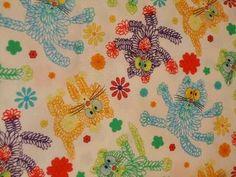 I love this cat fabric!!!