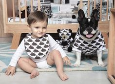 South American brand: Picnic  Go ahead,            match your baby to your dog.