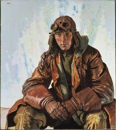 William Orpen- NCO pilot, 1915