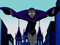 Birthmark Teen Titans Tv Series, Raven Teen Titans Go, Teen Titans Fanart, Robin And Raven, Raven Cosplay, Raven Beast Boy, Original Teen Titans, Superhero Cosplay, Cartoon Icons