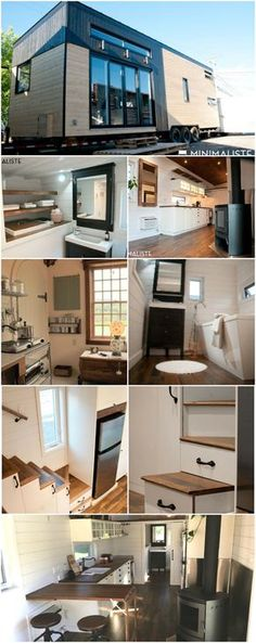 """""""Le Chene"""" Tiny House Combines Luxury and Minimalistic Styling Effortlessly - Some tiny houses are big on luxury and give you all the bells and whistles while others strive for a simpler approach and embrace the minimalistic lifestyle. Few, however, find the perfect blend between the two like this incredible tiny house from Minimaliste Tiny Houses called """"Le Chene"""" (or The Oak)."""