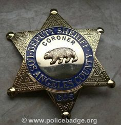 Police Officer Badge, Police Badges, Fire Badge, Law Enforcement Badges, California Highway Patrol, Los Angeles County, Smith Wesson, Military Weapons, Writing Resources