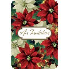 Regal Poinsettia Value Pack Invitatio…