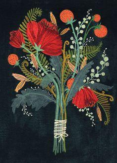 Becca Stadtlander - Bouquet card