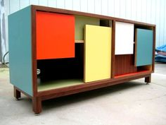 mid century modern furniture | love Thomas Wold's's sort of kitschy, mid-century modern look. You ...