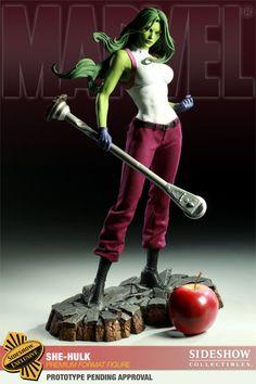 She-Hulk Premium Format Figure - Sideshow Collectibles