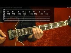 EASY! ELVIS PRESLEY - JAILHOUSE ROCK - How to Play - Guitar Lesson by BobbyCrispy - YouTube