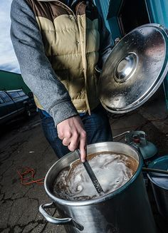 Whirpooling is an easy process to include in your brew day that can greatly impact your beers. If you have a spoon, you can whirlpool! The Benefits of Whirlpooling Quicker Chilling: The time it takes to chill wort to yeast pitching temperatures is greatly decreased when whirlpooling. Because the wort is circulating, the cool and warm …