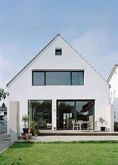 Image result for Renovation of a detached house in Oftersheimby by Thomas Fabrinsky