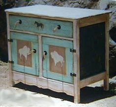 White Buffalo Sideboard