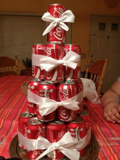 "Coca cola ""CAKE"" this is a must for the brother-in-law for his birthday!!"