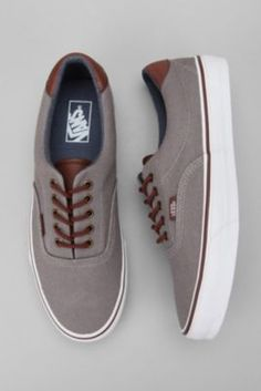 I need vans. And what's better than brown and grey together??