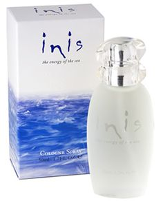 Inis perfume - I love marine-based scents (RL Blue, Clear Water from when I was a kid) but after discovering this on River Street in Savannah about 8 years ago this is my go-to perfume.