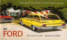 1960 Ford Station Wagons