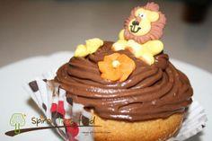 Cup cake vegano al cioccolato