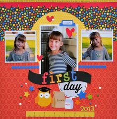 Project Ideas for Doodlebug Design - Back to School Collection - Cardstock Stickers - Fancy Frills