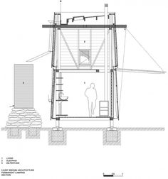 Two-story structure-recycled materials-casey brown-architecture
