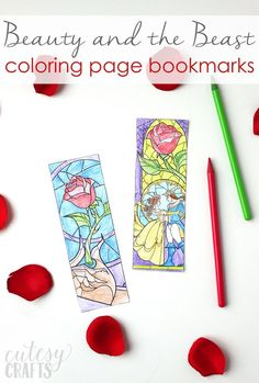 Beauty and the Beast Coloring Book . Beauty and the Beast Coloring Book . Beauty and the Beast Coloring Page Bookmarks Fnaf Coloring Pages, Disney Coloring Pages, Coloring Pages For Kids, Coloring Books, Adult Coloring, Beauty And The Beast Crafts, Beauty And The Beast Party, Beauty Beast, Princess Coloring Pages Printables