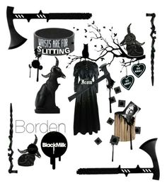 """Lizzie's Dark Soul"" by house-of-dahlstrom ❤ liked on Polyvore featuring art"