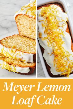 We're taking advantage of winter's citrus bounty with this easy Meyer lemon loaf cake, a sweet and sunny way to brighten up a chilly day. No Bake Desserts, Easy Desserts, Fun Cooking, Cooking Recipes, Sweet Cooking, Cooking Cake, Food Cakes, Cupcake Cakes, Cupcakes