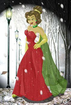 Belle+As+Ana+-+Winter+Walk+by+whysp80.deviantart.com+on+@DeviantArt