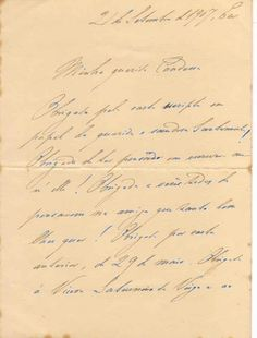 Carta Princesa Isabel, Eu 21 de setembro de 1907 (1).