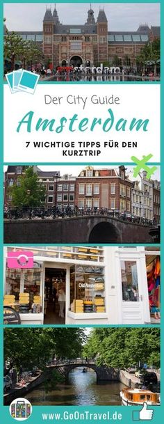 Amsterdam is just great! Here I have put together 7 important tips that may be helpful for you in the city! Europe Destinations, Medan, Journey Pictures, Mountainous Terrain, Reisen In Europa, Photography Tours, Vacation Pictures, Traveling By Yourself, How To Memorize Things