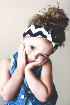 Chevron Kids Headband by Lemons  Lace-- get the coupon code for 15% off at DesignLovesDetail.com TODAY!