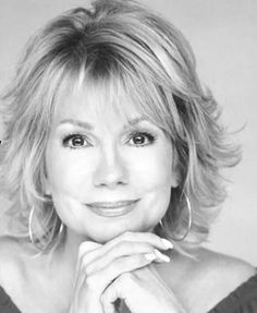 This interview with Kathie Lee Gifford was originally broadcast on The Paul Leslie Hour. Kathie Lee Gifford is well known as the past host of the television . Mom Hairstyles, Pretty Hairstyles, Medium Hair Styles, Curly Hair Styles, Hair Affair, Layered Hair, Great Hair, Hair Today, Fine Hair