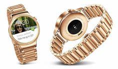 Ver Huawei se pone exquisito con un Watch de oro de 800 dólares