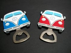 Wow, we love these VW bottle openers.