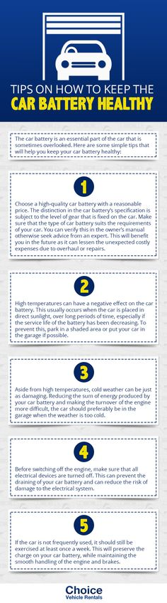 It is always important to check your batteries regularly especially before taking a ride. However, like the other parts of the car, batteries should be taken care of regularly. To fully use your car battery, here are some guidelines to prevent it from draining fast.