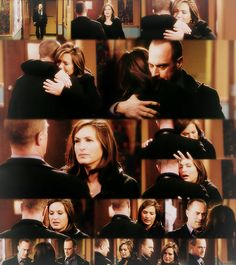 Ohhhh....<3 The episode in Season 12 where A.D.A. Sonya Paxton dies in Olivia's arms.