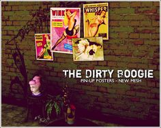 club_crimsyn | The Dirty Boogie - Pin-Up Posters