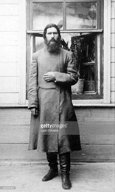 "A portrait of Grigorij Efimovich Rasputin ca 1905 in Russia. ""AL"""