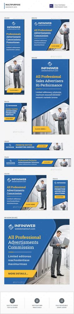 #Multipurpose Banners - #Banners & Ads #Web Elements