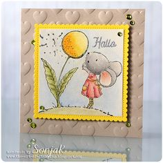 """handgemachte Karte, Freundschaftskarte 