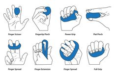hand therapy putty exercises
