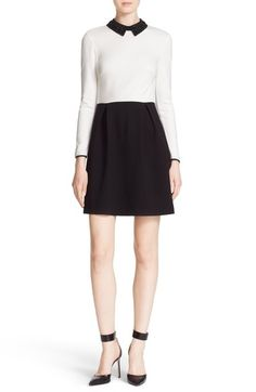 Ted Baker London 'Lailah' Beaded Collar Minidress available at #Nordstrom