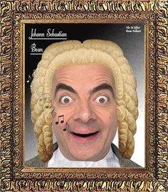 The 'Mr Bean' collection. Johann Sebastian 'Bean'
