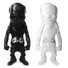 Secret Base x Usugrow Rebel Ink SC Black and White #rebelinksc #usugrow #secretbase #rebelink #fatsuma #fatsumatoys #designertoy #vinyltoy #designervinyl #sofubi #japantoy #graffiti #streetart