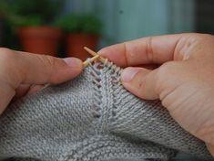 Sådan laver du raglan - opskrift med billeder - strikker.dk #gratisstrik - laylay