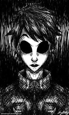 Gonna draw more creepy creepypasta to even out all the past cute cp deviations from before...