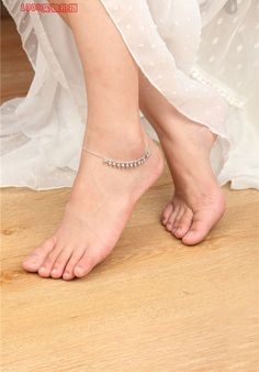 The Silver Ring Thing Silver Anklets, Beaded Anklets, Anklet Jewelry, Silver Ring, Jewellery, Pearl Jewelry, Bridal Jewelry, 925 Silver, Silver Earrings
