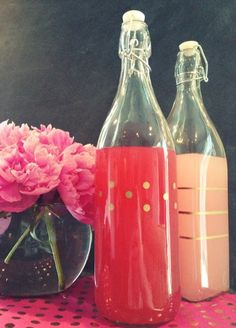 DIY - Gilded Bottles
