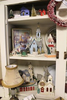 Lots of lovely christimas holiday putz houses on this blog post.